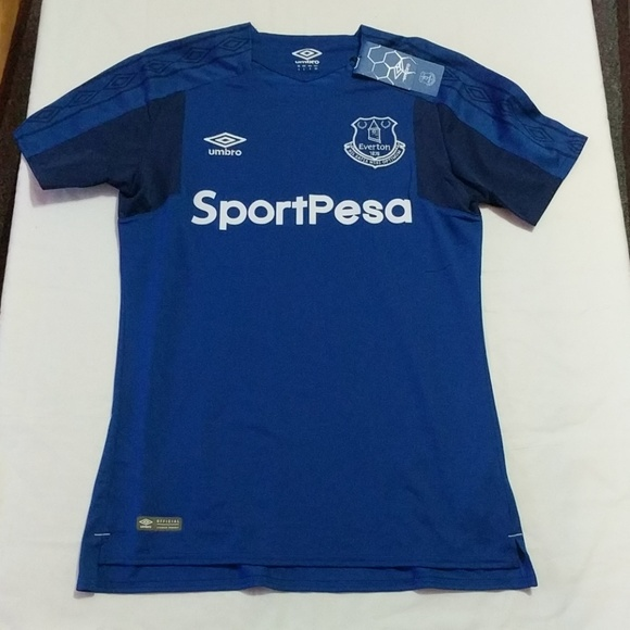 the latest 3fb90 8d246 Umbro Everton FC 2017 / 2018 Soccer Jersey Sz S NWT